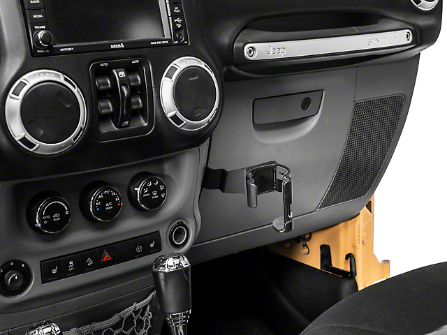 Alterum Multi-Function Cup Holder with Phone Mount (07-18 Jeep Wrangler JK)