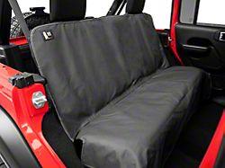 Weathertech Second Row Seat Protector; Charcoal (07-21 Jeep Wrangler JK & JL)