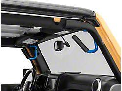 Front and Rear Grab Handles; Hydro Blue (07-18 Jeep Wrangler JK 4-Door)