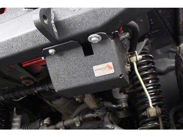 Fishbone Offroad Steering Box Skid Plate (97-06 Jeep Wrangler TJ)