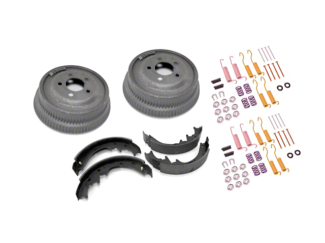 Omix-ADA Rear 10x1.75 Drum Brake Service Kit (87-89 Wrangler YJ w/ Dana 35)