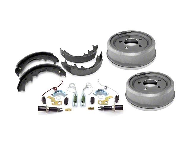 Rear 9x2.5 Drum Brake Service Kit (90-06 Jeep Wrangler YJ & TJ w/ Dana 35)