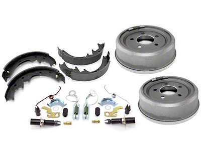 Omix-ADA Rear 9x2.5 Drum Brake Service Kit (90-06 Jeep Wrangler YJ & TJ w/ Dana 35)