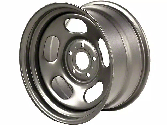 Rugged Ridge Trail Runner Classic Gunmetal Wheel; 17x9 (18-21 Jeep Wrangler JL)