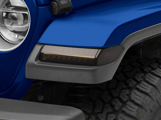MP Concepts Sequential Turn Signals; Smoked (18-21 Jeep Wrangler JL, Excluding Sport)