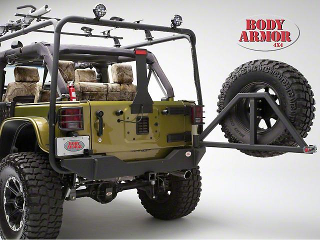 Body Armor 4x4 Rear Bumper (07-18 Jeep Wrangler JK)