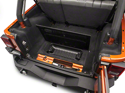 Rugged Ridge Rear Cargo Area Storage Bin (07-10 Wrangler JK)