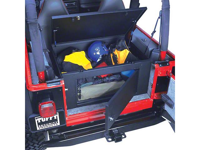 Tuffy Rear Cargo Security Lockbox (87-06 Jeep Wrangler YJ & TJ)