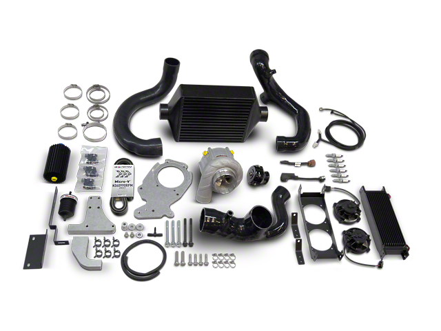 Hamburger Superchargers Stage 1 Supercharger Kit (2020 3.6L Jeep Gladiator JT)