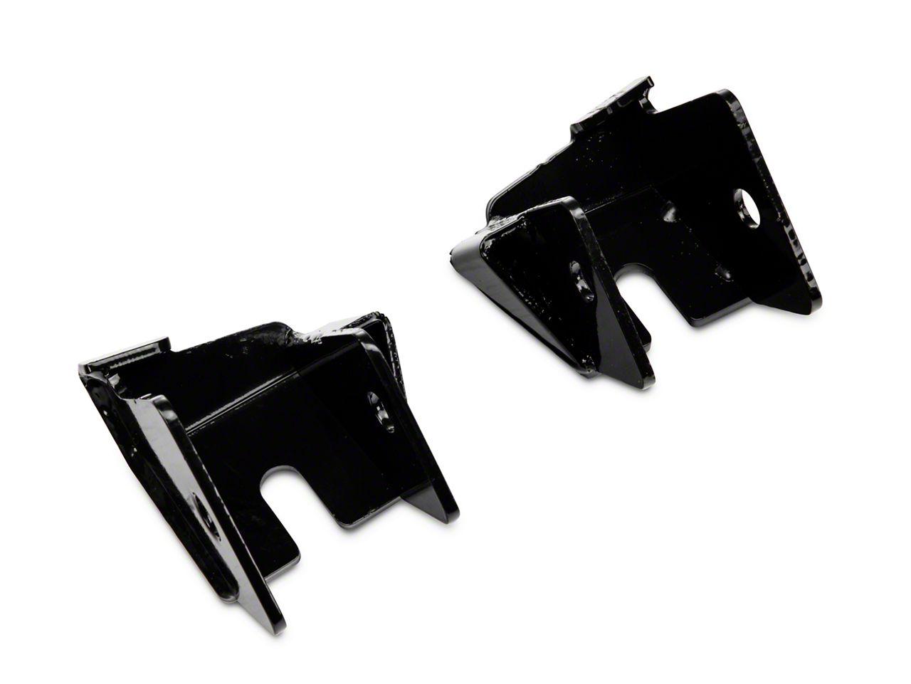Rugged Ridge Rear Lower Control Arm Skid Plates (07-18 Jeep Wrangler JK)