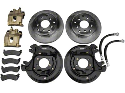 Teraflex Rear Disc Brake Conversion Kit (91-06 Jeep Wrangler YJ & TJ)