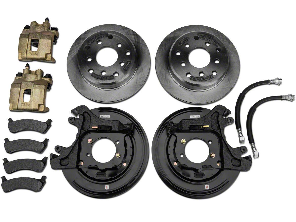 Teraflex Rear Disc Brake Conversion Kit 91 06 Jeep Wrangler Yj Tj