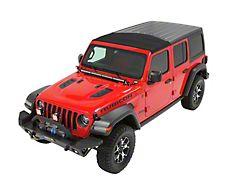 Bestop Sunrider for Factory Hard Tops; Black Diamond (18-21 Jeep Wrangler JL)