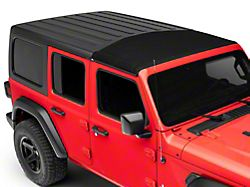 Bestop Sunrider for Factory Hard Tops; Black Twill (18-21 Jeep Wrangler JL)