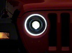 Oracle Oculus Bi-LED Projector Headlights; Matte Black Housing; Clear Lens (18-21 Jeep Wrangler JL)