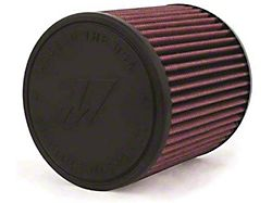 Mishimoto Air Filter; Performance; 3.50-Inch Inlet; 6-Inch Filter Length; Red (Universal; Some Adaptation May Be Required)