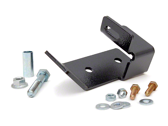 Rough Country Rear Track Bar Bracket for 2.5 in. Lift (97-06 Wrangler TJ)