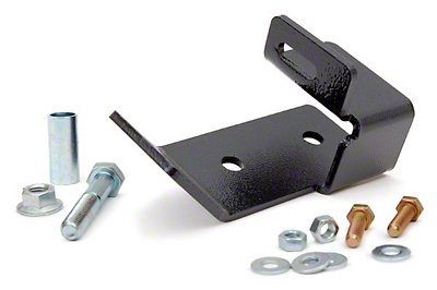 Rough Country Rear Track Bar Bracket for 2.5 in. Lift (97-06 Jeep Wrangler TJ)