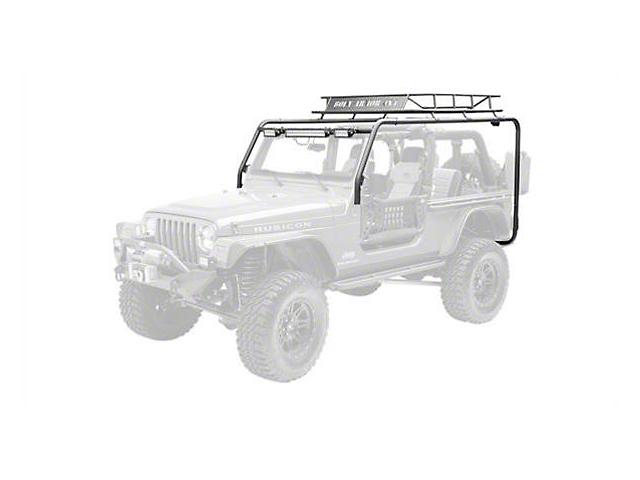 Body Armor 4x4 Roof Rack (04-06 Jeep Wrangler TJ Unlimited)