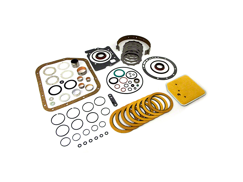 Rebuild Kit for a TF6 TYPE transmission (87-03 Jeep Wrangler YJ & TJ)