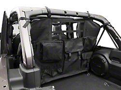 RedRock 4x4 Cargo Net/Pet Divider; Rear Seat (07-21 Jeep Wrangler JK & JL 4-Door)