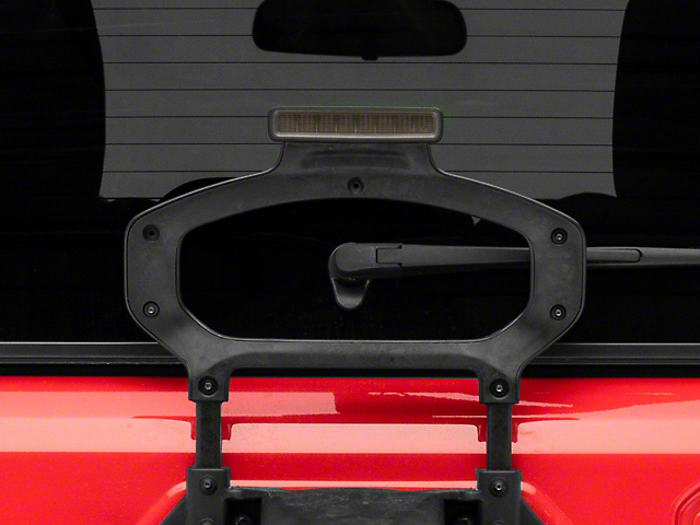 Axial Hyper Flash LED Third Brake Light; Smoked (18-21 Jeep Wrangler JL)