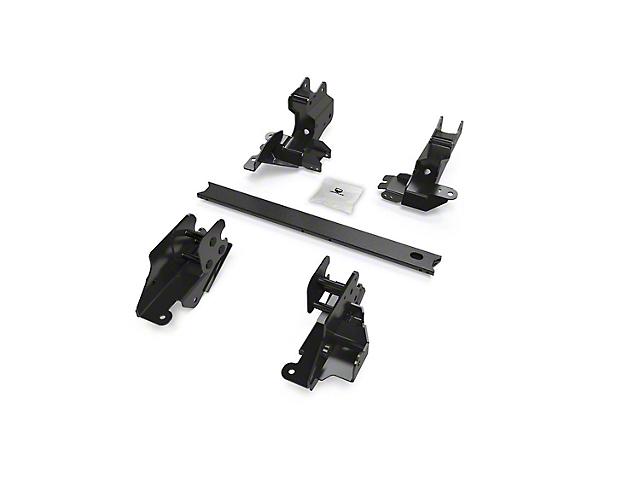 Teraflex Alpine Long Arm Bracket Kit for 3 to 6-Inch Lift (18-21 Jeep Wrangler JL 2-Door)