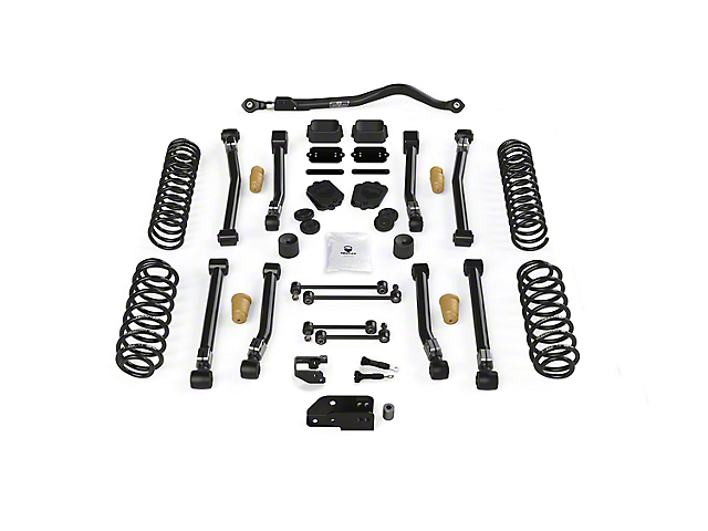 Teraflex 3.50-Inch Alpine CT3 Short Arm Suspension Lift Kit (18-21 2.0L or 3.6L Jeep Wrangler JL 2-Door)