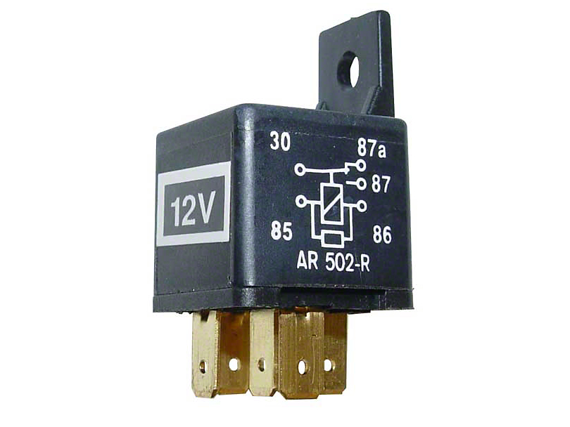 Accessory Relay (87-92 Jeep Wrangler YJ)