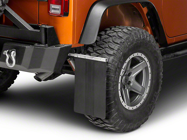teraflex jeep wrangler removable mud flaps 4808401 87 18. Black Bedroom Furniture Sets. Home Design Ideas