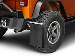 Teraflex Removable Mud Flaps; Front or Rear (76-18 Jeep CJ5, CJ7, Wrangler YJ, TJ & JK)