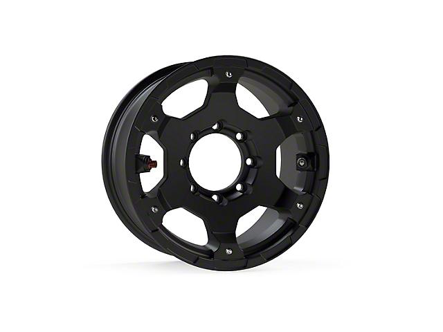 Teraflex Nomad Off-Road Base Metallic Black 8-Lug Wheel; 17x8.5 (20-21 Jeep Gladiator JT)