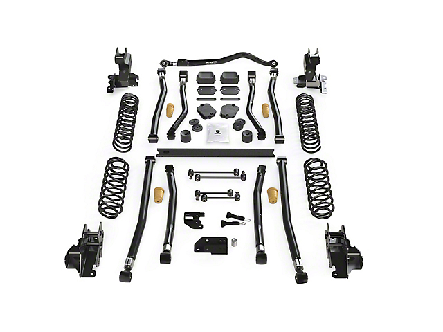 Teraflex 3.50-Inch Alpine CT3 Long Arm Suspension Lift Kit (18-21 2.0L or 3.6L Jeep Wrangler JL 4-Door)