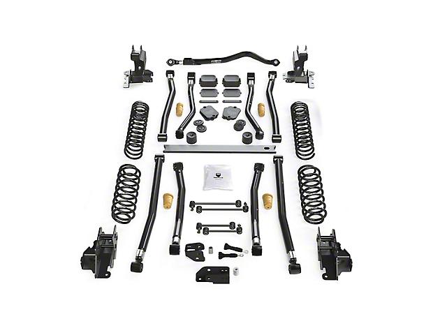 Teraflex 4.50-Inch Alpine CT4 Long Arm Suspension Lift Kit (18-21 2.0L or 3.6L Jeep Wrangler JL 4-Door)