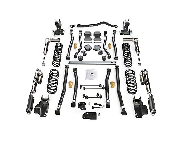 Teraflex 4.50-Inch Alpine CT4 Long Arm Suspension Lift Kit with Falcon SP2 3.1 Piggyback Shocks (18-21 2.0L or 3.6L Jeep Wrangler JL 4-Door)