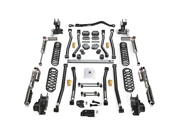Teraflex 4.50-Inch Alpine CT4 Long Arm Suspension Lift Kit with Falcon 3.3 SP2 Fast Adjust (18-21 2.0L or 3.6L Jeep Wrangler JL 4-Door)