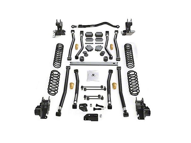 Teraflex 4.50-Inch Alpine CT4 Long Arm Suspension Lift Kit (18-21 2.0L or 3.6L Jeep Wrangler JL 2-Door)