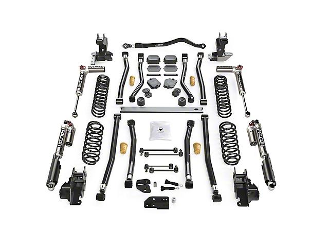 Teraflex 4.50-Inch Alpine CT4 Long Arm Suspension Lift Kit with Falcon SP2 3.3 Fast Adjust Shocks (18-21 2.0L or 3.6L Jeep Wrangler JL 2-Door)