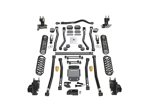 Teraflex 3.50-Inch Alpine RT3 Long Arm Suspension Lift Kit (18-21 2.0L or 3.6L Jeep Wrangler JL 2-Door)