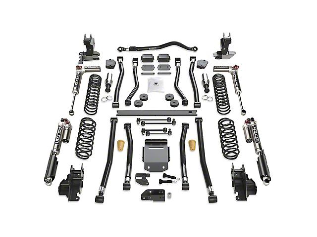 Teraflex 3.50-Inch Alpine RT3 Long Arm Suspension Lift Kit with Falcon SP2 3.3 Fast Adjust Shocks (18-21 2.0L or 3.6L Jeep Wrangler JL 2-Door)