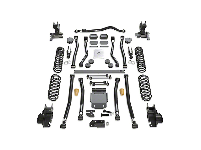 Teraflex 3.50-Inch Alpine RT3 Long Arm Suspension Lift Kit (18-21 2.0L or 3.6L Jeep Wrangler JL 4-Door)