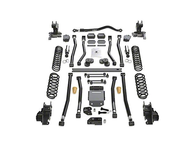 Teraflex 4.50-Inch Alpine RT4 Long Arm Suspension Lift Kit (18-21 2.0L or 3.6L Jeep Wrangler JL 4 Door)
