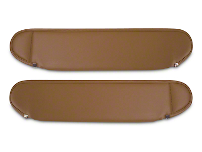 Rugged Ridge Replacement Sun Visors - Spice (87-95 Wrangler YJ)
