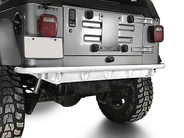 Steinjager Rear Bumper; Cloud White (97-06 Jeep Wrangler TJ)