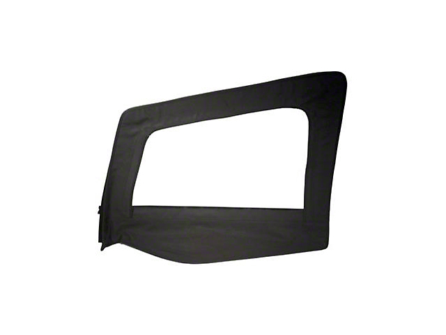 Smittybilt Replacement Upper Door Skin w/ Frame - Driver Side (87-95 Jeep Wrangler YJ)