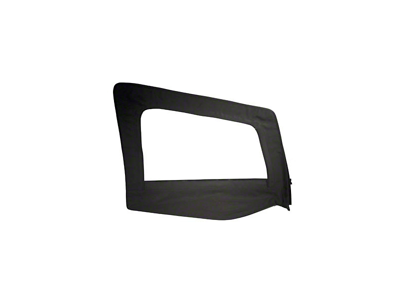 Smittybilt Replacement Upper Door Skin w/ Frame - Passenger Side (87-95 Jeep Wrangler YJ)