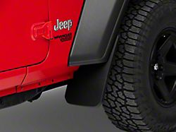 RedRock 4x4 Mud Guards; Front and Rear (18-21 Jeep Wrangler JL, Excluding Rubicon)