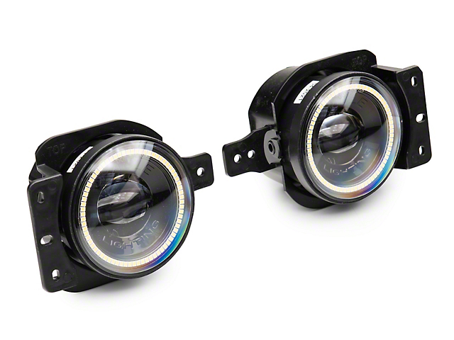 Oracle High Performance 20W LED Fog Lights with White Halo (20-21 Jeep Gladiator JT Sport)