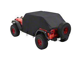 Bestop All-Weather Trail Cover for Trektop or No Top Installed (07-21 Jeep Wrangler JK & JL 4-Door)