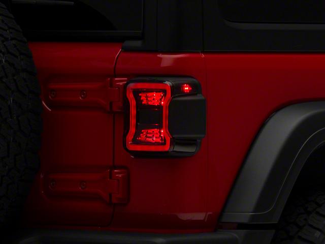 Quake LED Tempest Blackout LED Tail Lights (18-21 Jeep Wrangler JL)